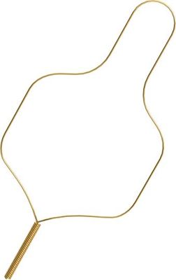 Picture of SS Performed Ligature Ties Short Gold .010 - PK/100