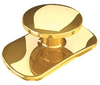 Picture of Gold Bondable Buttons Rectangular Flat - PK/10