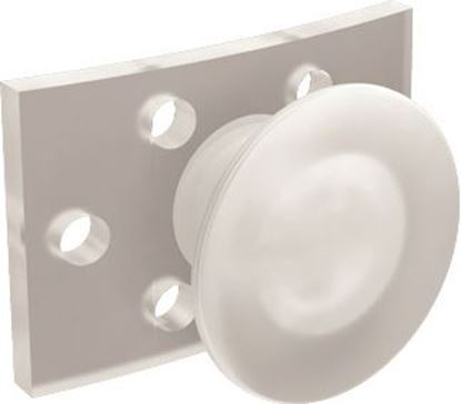 Picture of Clear Buttons Rectangular - PK/10