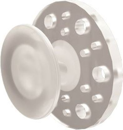 Picture of Clear Buttons Round - PK/10