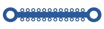 Picture of Ligature O - Ties Royal Blue - PK/1008