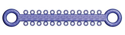 Picture of Ligature O - Ties Sparkle Blue - PK/1008