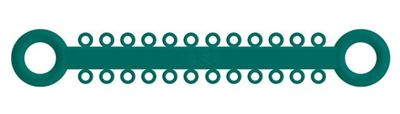 Picture of Ligature O - Ties Teal - PK/1008