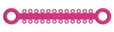 Picture of Ligature O - Ties Neon Pink - PK/1008