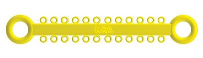 Picture of Ligature O - Ties Yellow - PK/1008