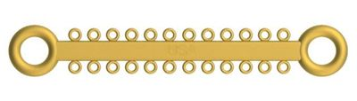 Picture of Ligature O - Ties Gold - PK/1008