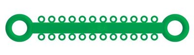 Picture of Ligature O - Ties Kelly Green - PK/1008
