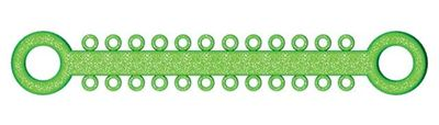 Picture of Ligature O - Ties Sparkle Green - PK/1008