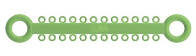 Picture of Ligature O - Ties Neon Green - PK/1008