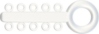 Picture of Mini Ligature O - Ties clear - PK/1000