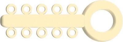 Picture of Mini Ligature O - Ties Ivory - PK/1000