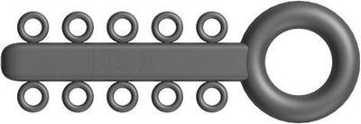 Picture of Mini Ligature O - Ties Gray - PK/1000