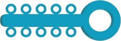 Picture of Mini Ligature O - Ties Light Blue - PK/1000