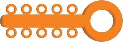 Picture of Mini Ligature O - Ties Orange - PK/1000