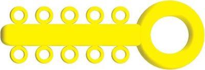 Picture of Mini Ligature O - Ties Yellow - PK/1000