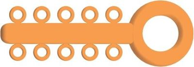 Picture of Mini Ligature O - Ties Marigold - PK/1000