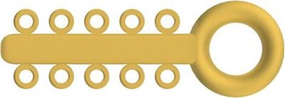 Picture of Mini Ligature O - Ties Gold - PK/1000