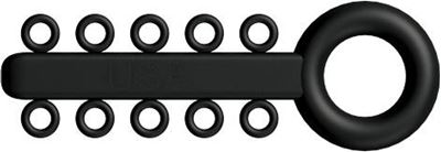 Picture of Mini Ligature O - Ties Black - PK/1000