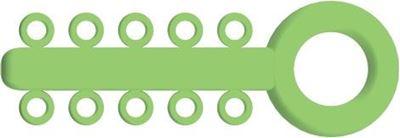 Picture of Mini Ligature O - Ties Neon Green - PK/1000