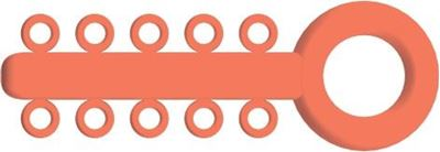 Picture of Mini Ligature O - Ties Coral - PK/1000