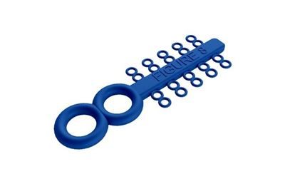 Picture of Figure 8 Ties Royal Blue - PK/100